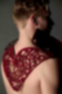 Lace; Lasercut; Felt; Henry VIII; Costume; Clara Lock Designs; Clara Lockyer; costume; veneer; sewing; Costume Designer; costumer; costume maker; maker; Costume Design; Costume Designer; Experimemtal; Expermental Costume