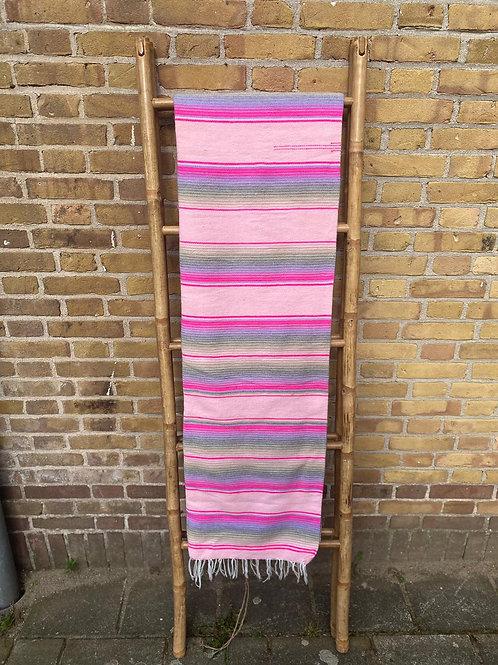Mexicaanse deken Pastel Baby Roze