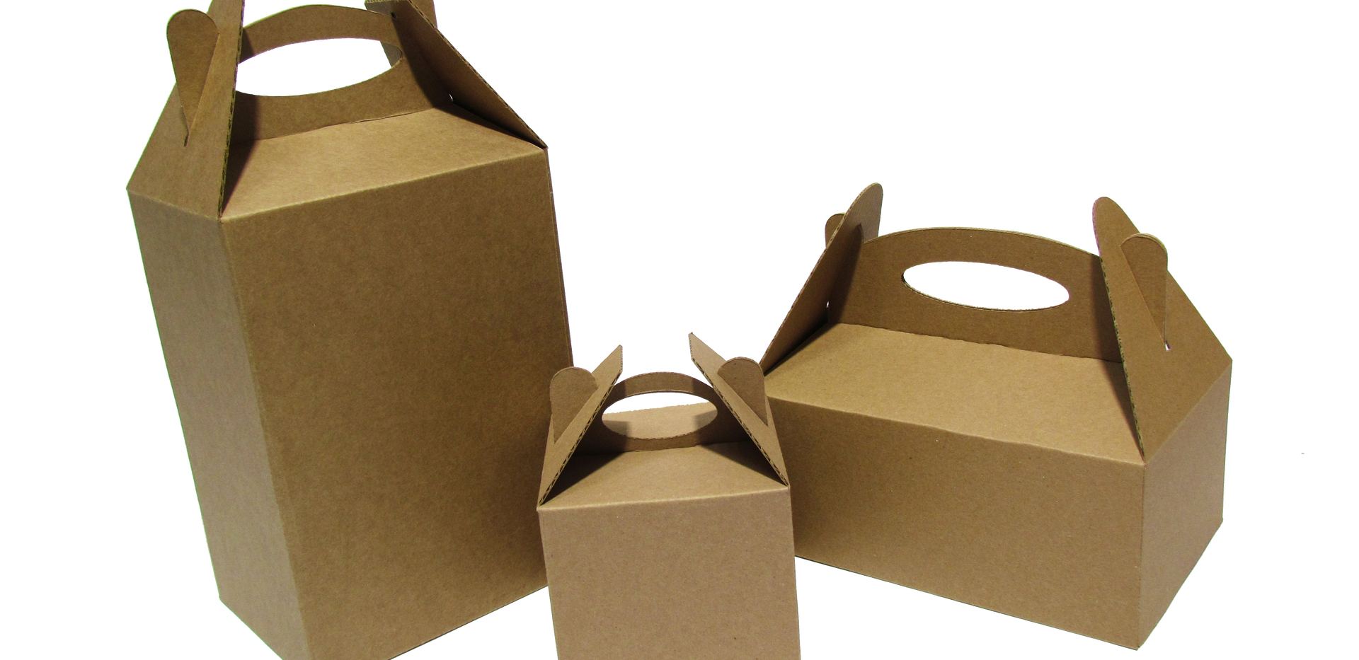 Loncheras de diversos tamaños ideal para bocadillos   Material: -Microcorrugado  Linner: -Kraft -Blanco  Con o sin impresión