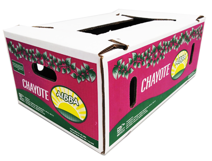 Caja para Chayote