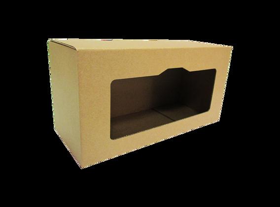 """Exhibidor caja cerrada con ventana de acuerdo a las medidas que se acomoden a sus necesidades asi como el tipo de material y linner exterior  Material: -Flauta """"B"""" -Flauta """"C"""" -Flauta """"E""""  DOBLE CORRUGADO -Flauta """"BC"""" -Flauta """"BE""""  Linner exterior: -Blanco -Kraft  Con o sin impresión"""