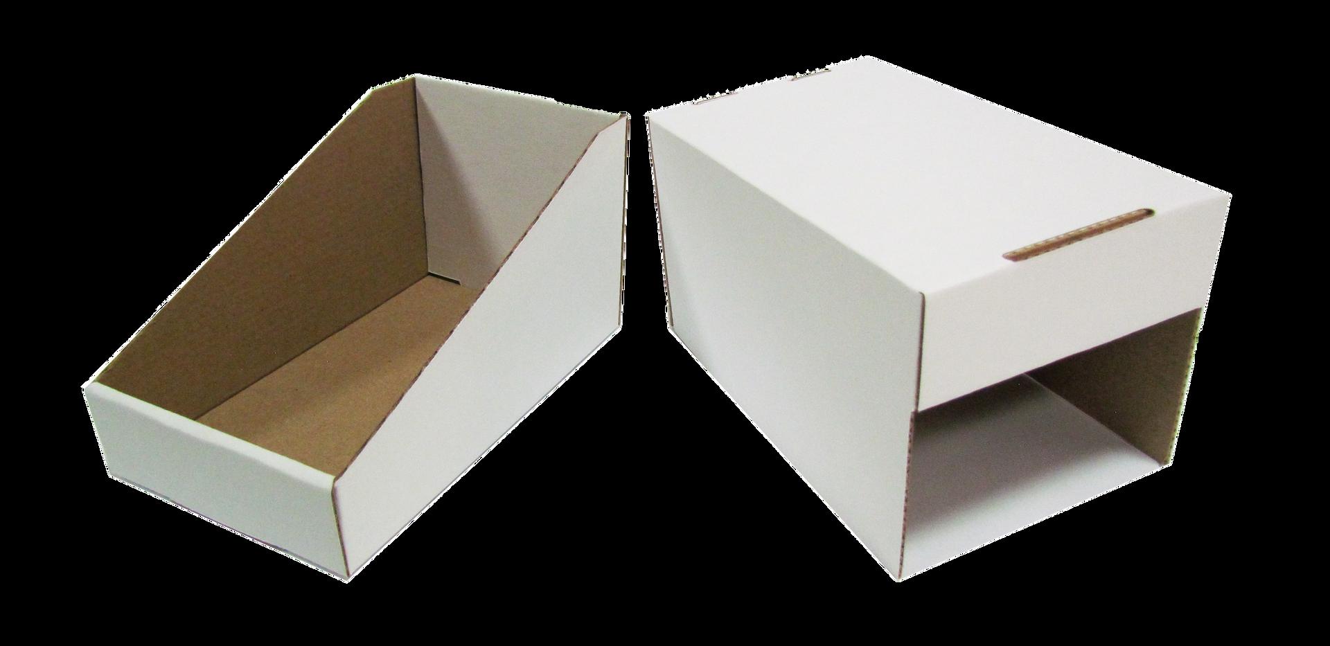 """Exhibidor 2 partes (abierta)  de acuerdo a las medidas que se acomoden a sus necesidades asi como el tipo de material y linner exterior  Material: -Flauta """"B"""" -Flauta """"C"""" -Flauta """"E""""  DOBLE CORRUGADO -Flauta """"BC"""" -Flauta """"BE""""  Linner exterior: -Blanco -Kraft  Con o sin impresión"""