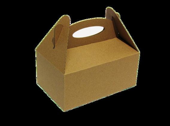 Lonchera mediana ideal para bocadillos  Medidas internas: Largo: 23.0 cm. Ancho: 15.0 cm.  Altura: 10.0  Material: -Microcorrugado  Linner: -Kraft -Blanco  Con o sin impresión