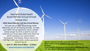 2021 Heartland Global Health Board Member Retreat