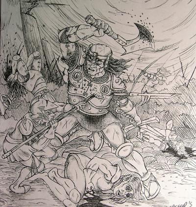 Gregor's Rampage
