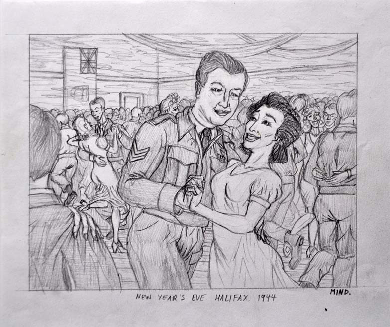 New Year's Eve Halifax 1944