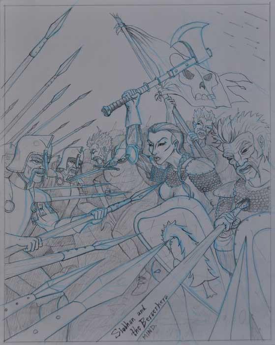 Siobhan and the Berserkers