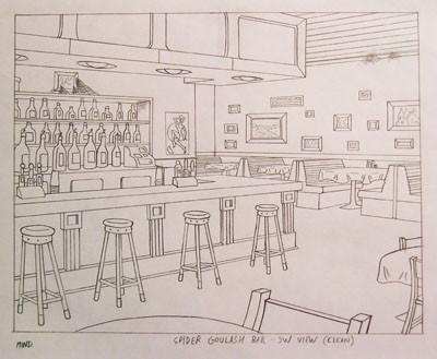 Spider Goulash Bar