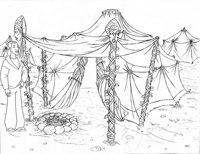 Oracles tent
