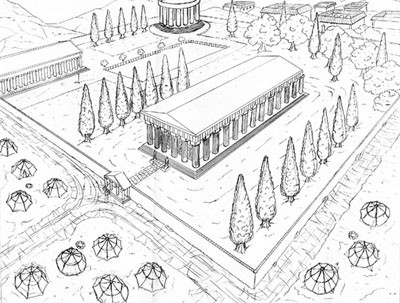 Santuary of Zeus