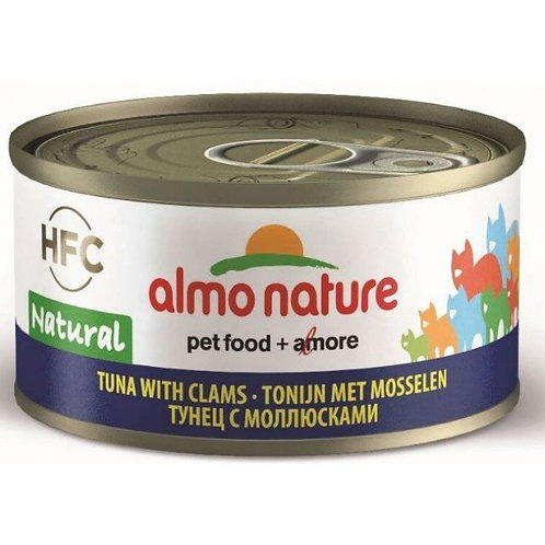 Almo Nature Cat Canned Food - Tuna & Clams (70g)