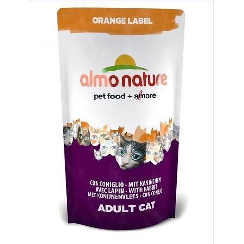 Almo Nature Orange Label Cat Dry Food - Rabbit (750g)