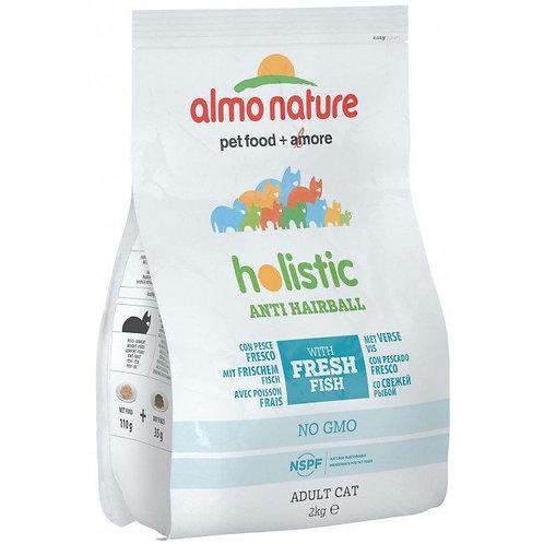 Almo Nature Anti-Hairball Cat Dry Food - Fish & Potatoes (2kg)