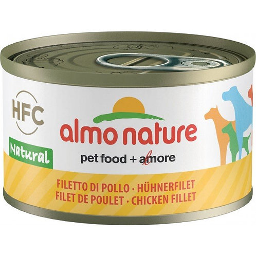 Almo Nature Dog Canned Food - Chicken Fillet (95g)