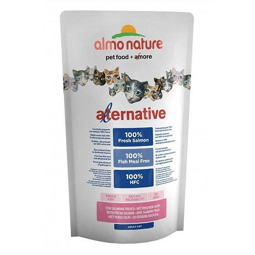Almo Nature Alternative Cat Food - Salmon & Rice (750g)