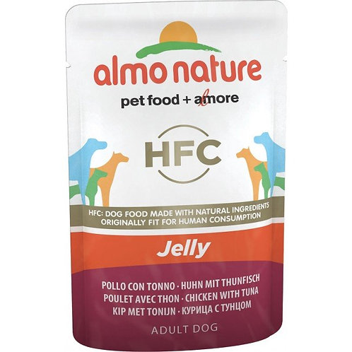 Almo Nature Classic Jelly Wet Dog Food - Chicken & Tuna (70g)
