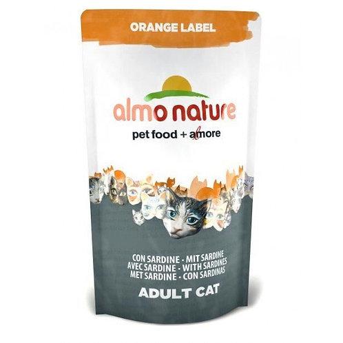 Almo Nature Orange Label Cat Dry Food - Sardines (750g)