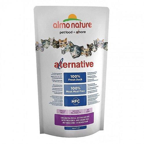 Almo Nature Alternative Cat Food - Duck & Rice (750g)