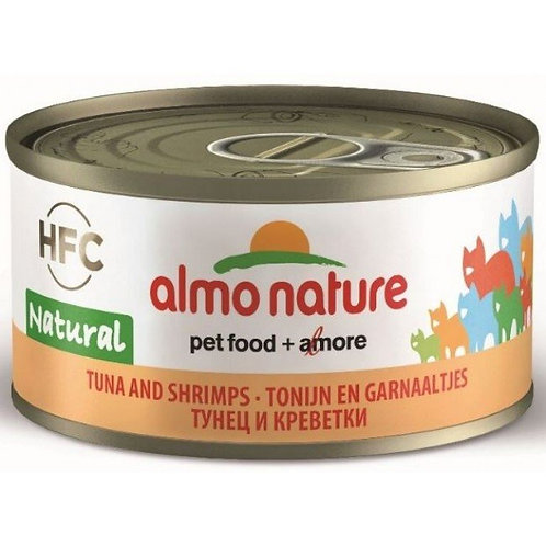 Almo Nature Cat Canned Food - Tuna & Shrimps (70g)