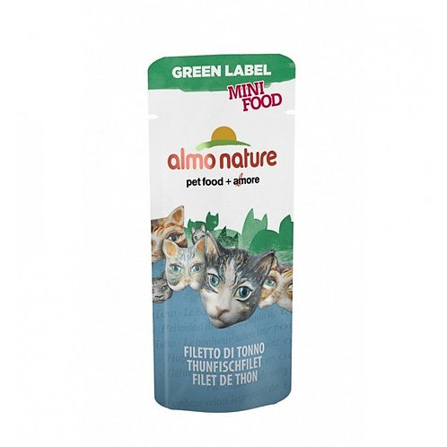 Almo Nature Green Label Mini Cat Treats - Tuna Fillet (3g)
