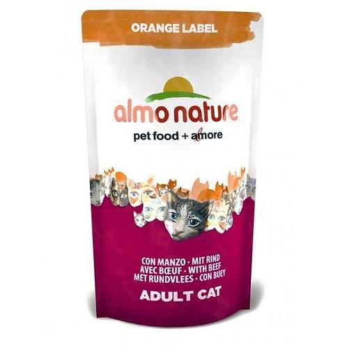 Almo Nature Orange Label Cat Dry Food - Beef (750g)