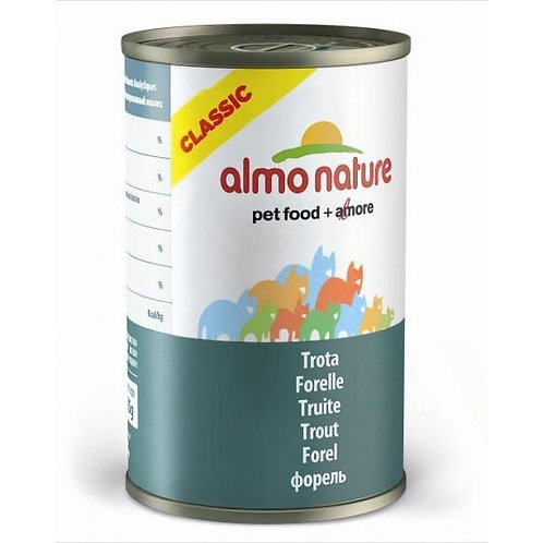 Almo Nature Cat Canned Food - Trout (140g)