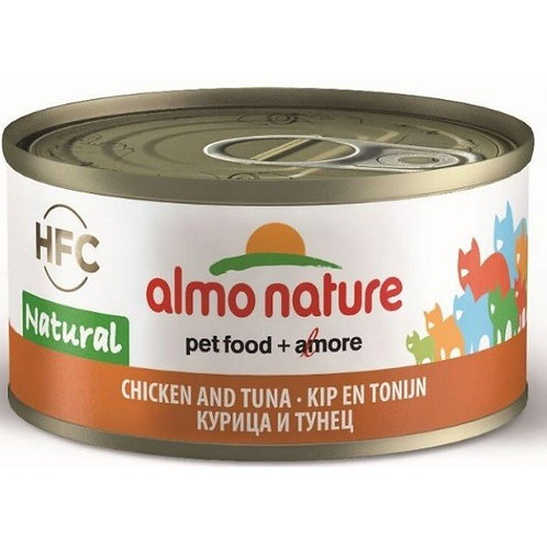 Almo Nature Cat Canned Food - Tuna & Chicken (70g)
