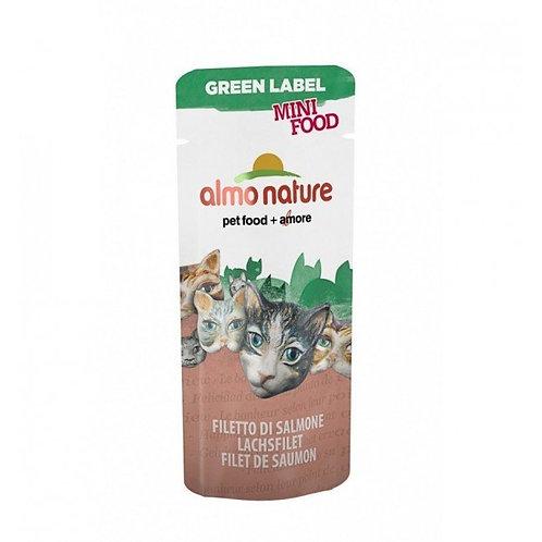 Almo Nature Green Label Mini Cat Treats - Salmon Fillet (3g)