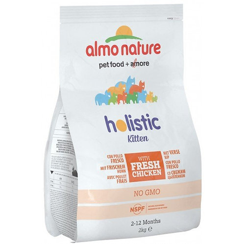Almo Nature Holistic Cat Food For Kitten - Chicken & Rice (2kg)