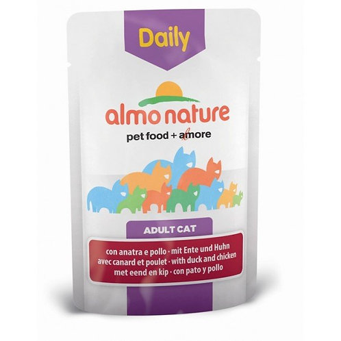 Almo Nature Daily Menu Cat Pouch - Chicken & Duck (70g)