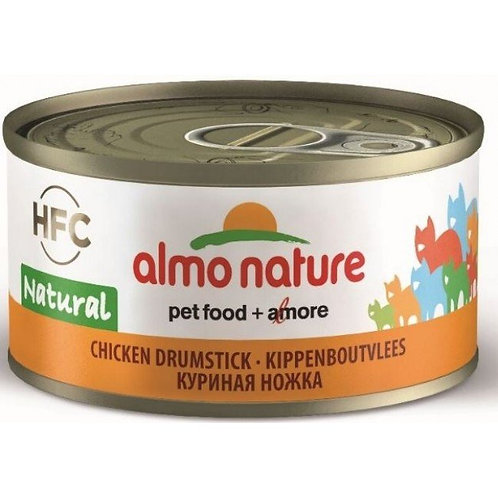 Almo Nature Cat Canned Food - Chicken Drumstick (70g)