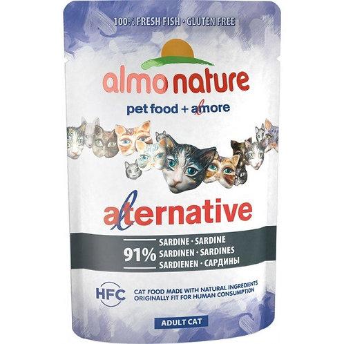 Almo Nature Alternative Wet Cat Food - Sardine (55g)