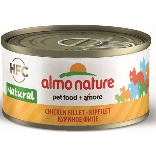 Almo Nature Cat Canned Food - Chicken Fillet (70g)