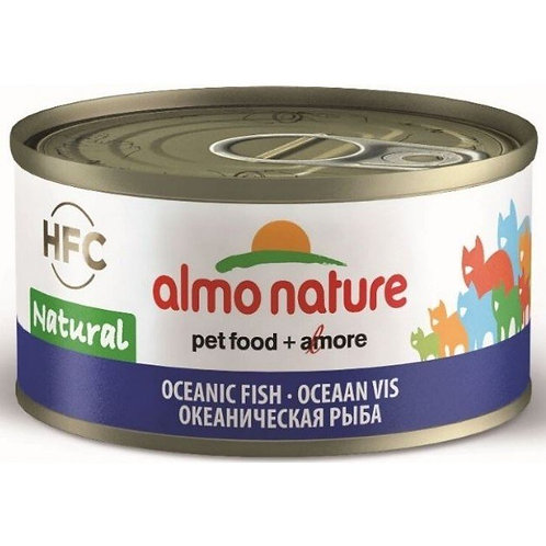 Almo Nature Cat Canned Food - Ocean Fish (70g)