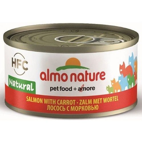 Almo Nature Cat Canned Food - Salmon & Carrot (70g)