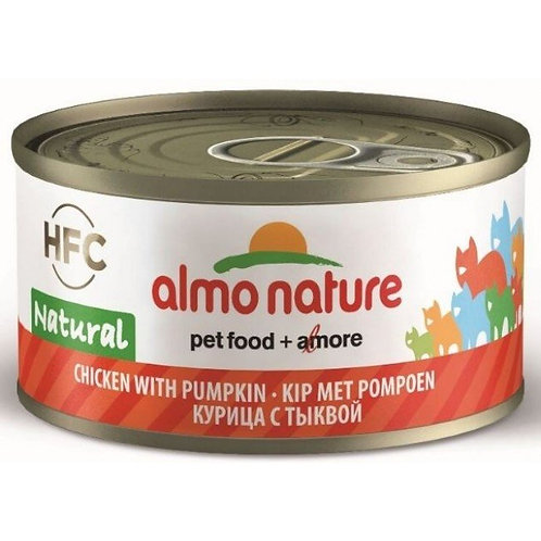 Almo Nature Cat Canned Food - Chicken with Pumpkin (70g)
