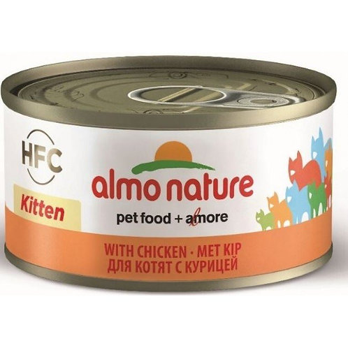 Almo Nature Cat Canned Food - Kitten with Chicken (70g)