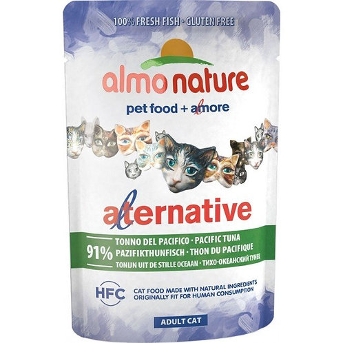 Almo Nature Alternative Wet Cat Food - Pacific Tuna (55g)