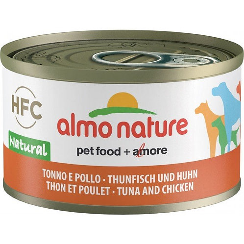 Almo Nature Dog Canned Food - Chicken and Tuna (95g)