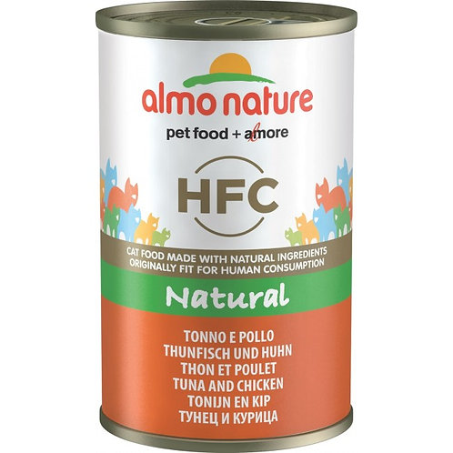 Almo Nature Cat Canned Food - Tuna & Chicken (140g)