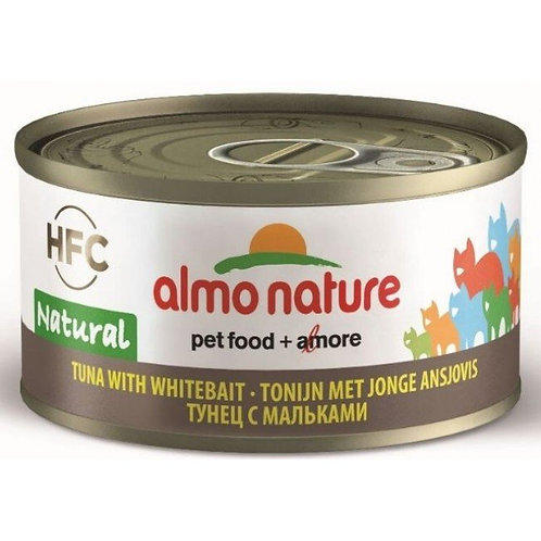 Almo Nature Cat Canned Food - Tuna with White Bait (70g)