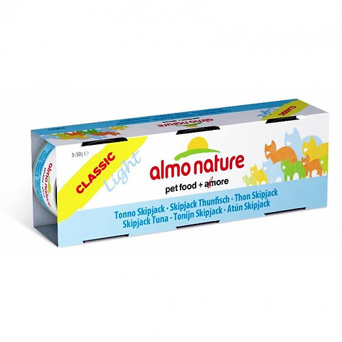 Almo Nature Classic Light Cat Canned Food - Skipjack Tuna (50g x 3)