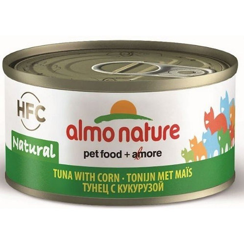 Almo Nature Cat Canned Food - Tuna & Corn (70g)