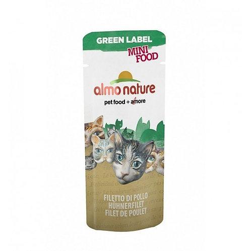 Almo Nature Green Label Mini Cat Treat - Chicken Fillet (3g)