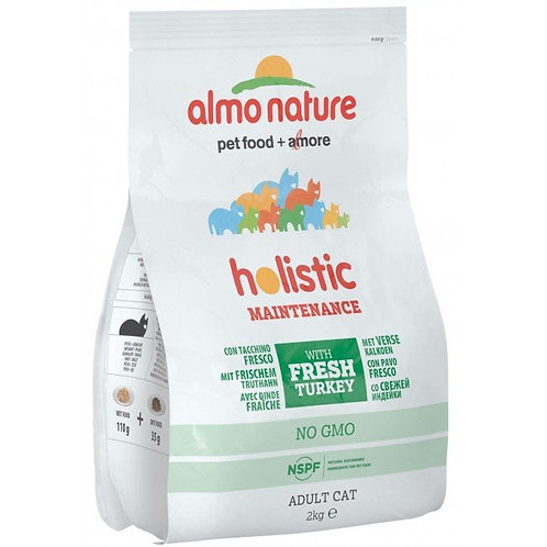 Almo Nature Holistic Adult Cat Food - Turkey & Rice (2kg)