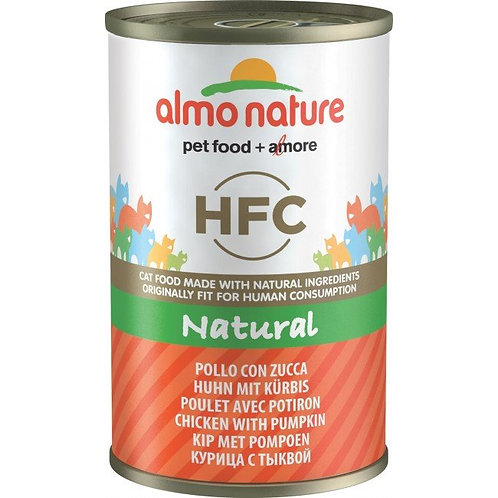 Almo Nature Cat Canned Food - Chicken with Pumpkin (140g)