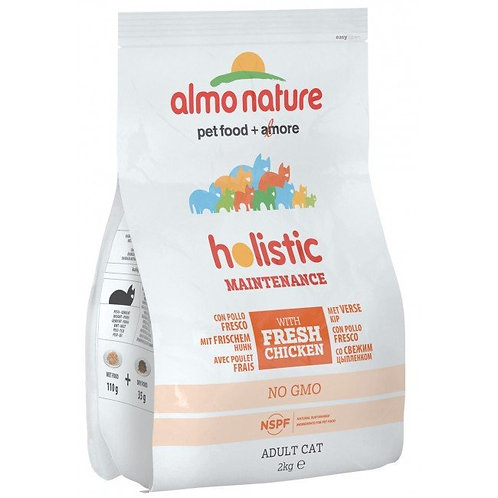 Almo Nature Holistic Adult Cat Food - Chicken & Rice (2kg)