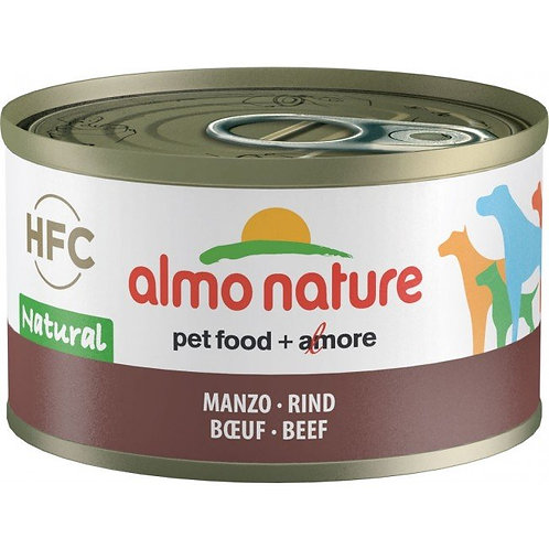 Almo Nature Dog Canned Food - Beef (95g)