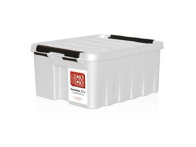 Элегантные белые и ярко оранжевые контейнеры Rox Box.
