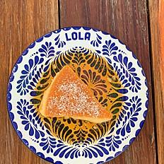 Lola's Coconut Flan